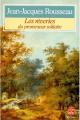 Couverture Les Rêveries du promeneur solitaire / Rêveries du promeneur solitaire Editions Le Livre de Poche 1983