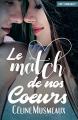Couverture Le match de nos coeurs Editions Nymphalis 2020