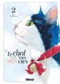 Couverture Le chat aux sept vies, tome 2 Editions Glénat 2020
