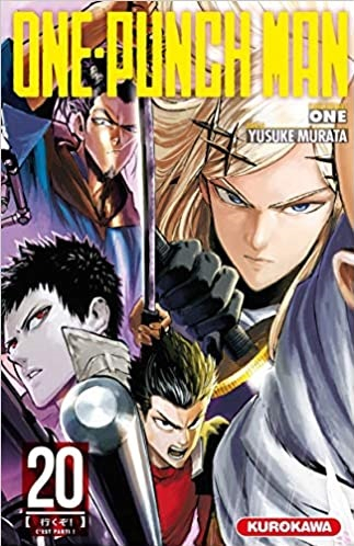 Couverture One-punch man, tome 20