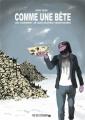 Couverture Comme une bête (ou comment je suis devenu végétarien) Editions Rue de l'échiquier 2020