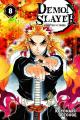 Couverture Les rôdeurs de la nuit / Demon Slayer, tome 08 Editions Panini (Manga - Shônen) 2020