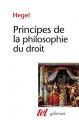 Couverture Principes de la philosophie du droit Editions Gallimard  (Tel) 1997