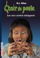 Couverture Les vers contre-attaquent Editions Bayard (Frisson) 2019