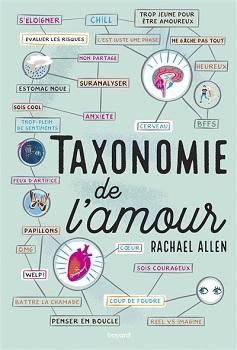 Couverture Taxonomie de l'amour