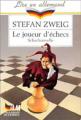 Couverture Le Joueur d'échecs / Nouvelles du jeu d'échecs Editions Le Livre de Poche (Lire en allemand) 1991