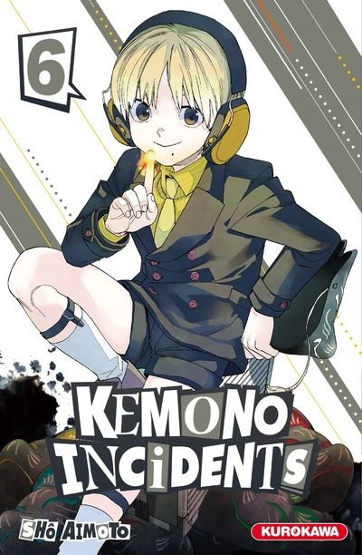 Couverture Kemono Incidents, tome 06