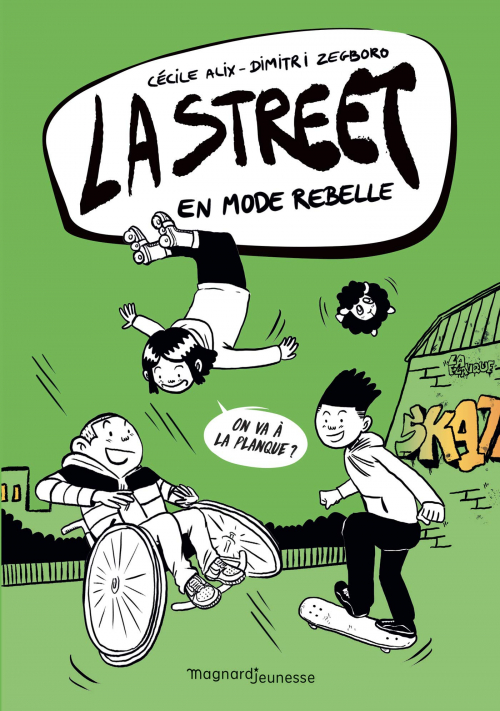 Couverture La Street, tome 2 : En mode rebelle