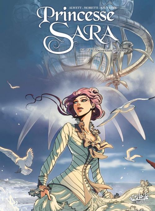 Couverture Princesse Sara, tome 13 : L'Université volante