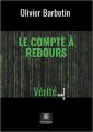Couverture Le compte à rebours, tome 4 : La vérité Editions Le lys bleu 2019