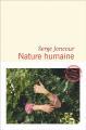 Couverture Nature humaine Editions Flammarion (Littérature française) 2020
