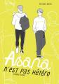 Couverture Asana n'est pas hétéro Editions Akata (L) 2020