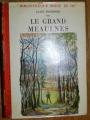 Couverture Le Grand Meaulnes Editions Atelier rouge et or 1971