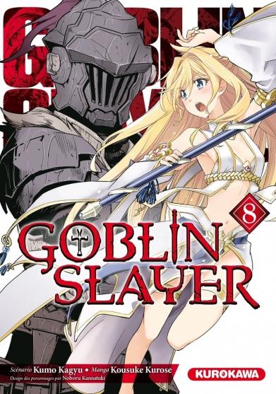 Couverture Goblin Slayer, tome 8