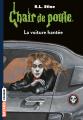 Couverture La voiture hantée Editions Bayard (Frisson) 2018