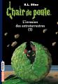 Couverture L'invasion des extraterrestres I Editions Bayard (Frisson) 2017