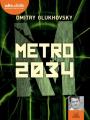 Couverture Métro 2034 Editions Audiolib 2020