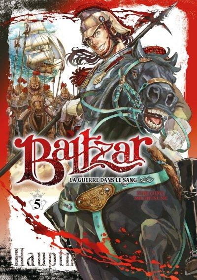 Couverture Baltzar : La guerre dans le sang, tome 5