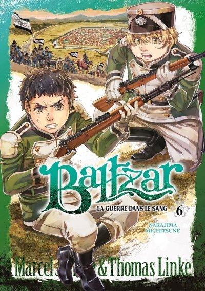 Couverture Baltzar : La guerre dans le sang, tome 06
