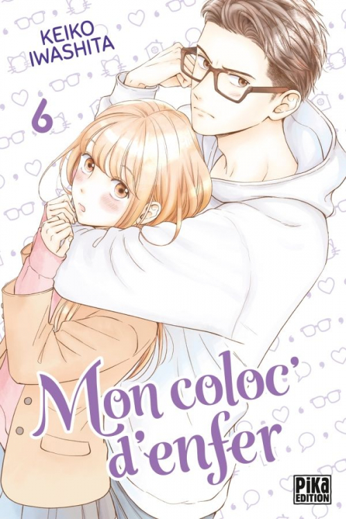 Couverture Mon coloc' d'enfer, tome 6