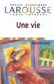 Couverture Une vie Editions Larousse 2001