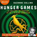 Couverture Hunger Games : La ballade du serpent et de l'oiseau chanteur Editions Audiolib 2020