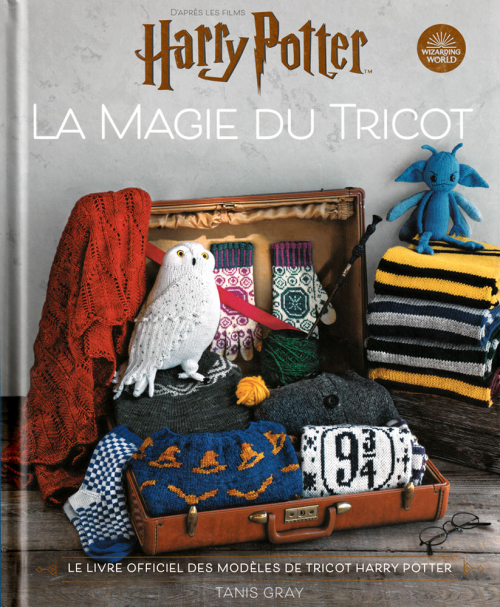 Couverture Harry Potter : La magie du tricot