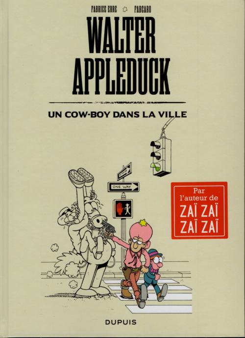 Couverture Walter Appleduck, tome 2 : Un cow-boy dans la ville