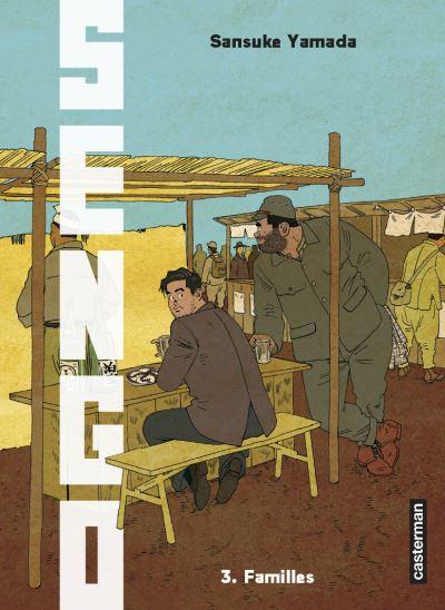 Couverture Sengo, tome 03 : Familles