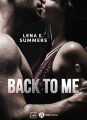 Couverture Back to Me  Editions Addictives 2018