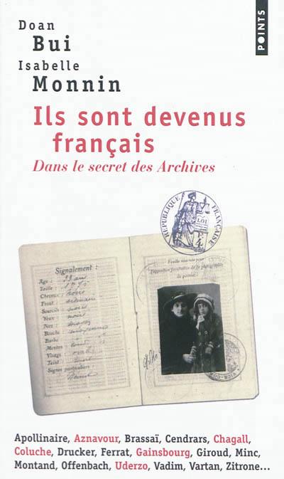 Couverture Ils sont devenus français
