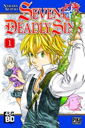 Couverture Seven Deadly Sins, tome 01