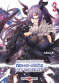 Couverture Why nobody remembers my world ?, tome 3 Editions Doki Doki 2020
