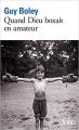 Couverture Quand Dieu boxait en amateur Editions Folio  2020