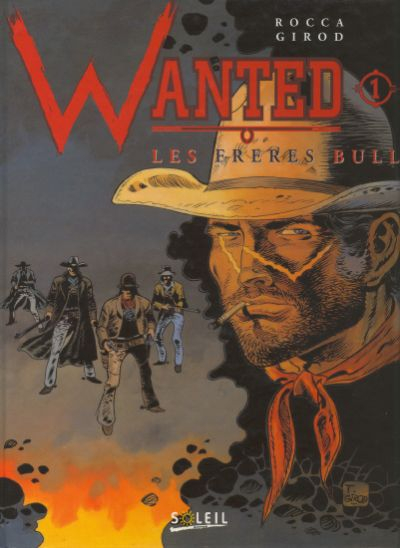 Couverture Wanted, tome 1 : Les frères Bull
