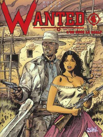 Couverture Wanted, tome 4 : L'or sous le scalp
