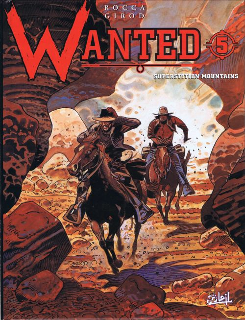 Couverture Wanted, tome 5 : Superstition mountains