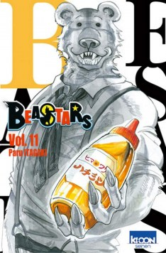Couverture Beastars, tome 11