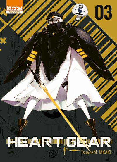 Couverture Heart gear, tome 3