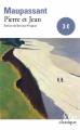 Couverture Pierre et  Jean Editions Folio  (Classique) 1999