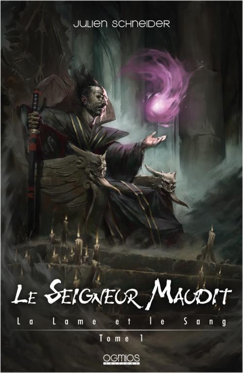 Couverture La Lame et le sang, tome 1 : Le Seigneur maudit