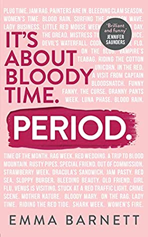 Couverture It's about bloody time. Period.