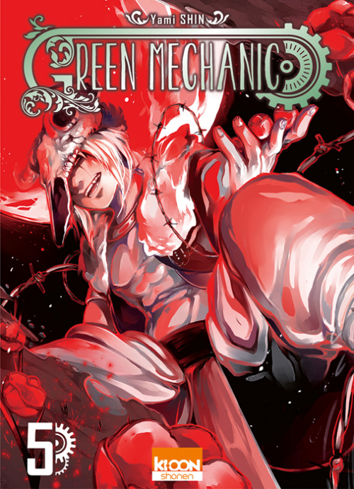 Couverture Green Mechanic, tome 5