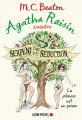 Couverture Agatha Raisin enquête, tome 23 : Serpent et séduction Editions Albin Michel 2020