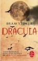 Couverture Dracula Editions Le Livre de Poche 2020