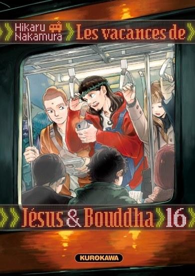 Couverture Les vacances de Jésus & Bouddha, tome 16