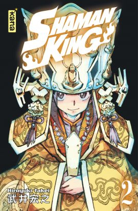Couverture Shaman King, star édition, tome 02