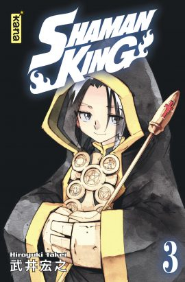 Couverture Shaman King, star édition, tome 03