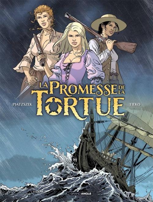 Couverture La Promesse de la Tortue, tome 1