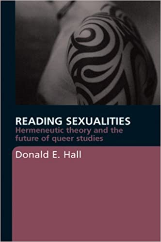 Couverture Reading sexualities: Hermenéutica theory and the future of queer studies